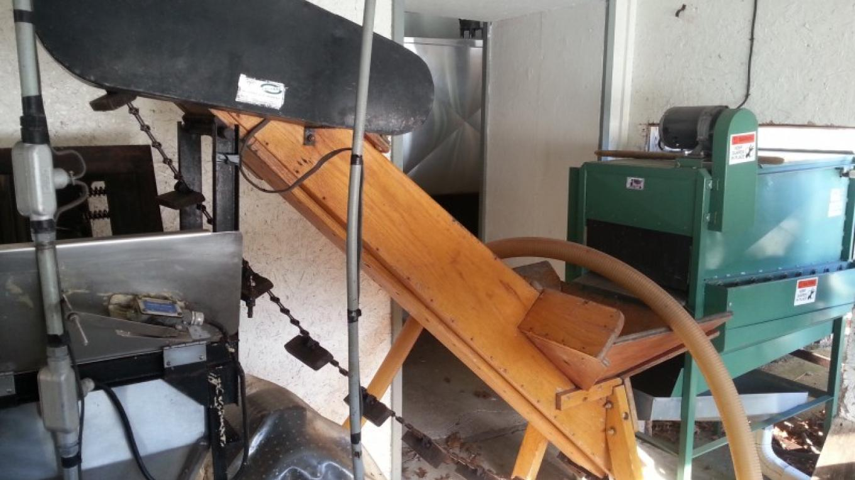 The pressure washer, elevator and apple grinder – Hardball Cider