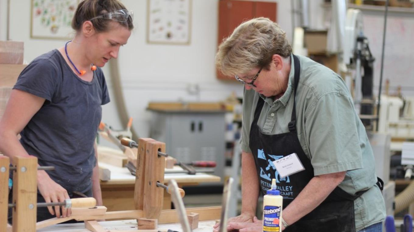 Woodworking Studio at Peters Valley School of Craft – PVSC