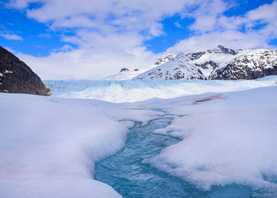 Herbert Glacier, Juneau Alaska