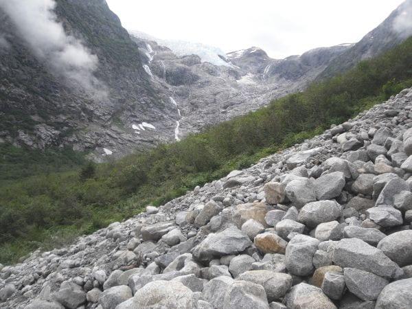 Denver Glacier. Photo Credit: Panamintcity