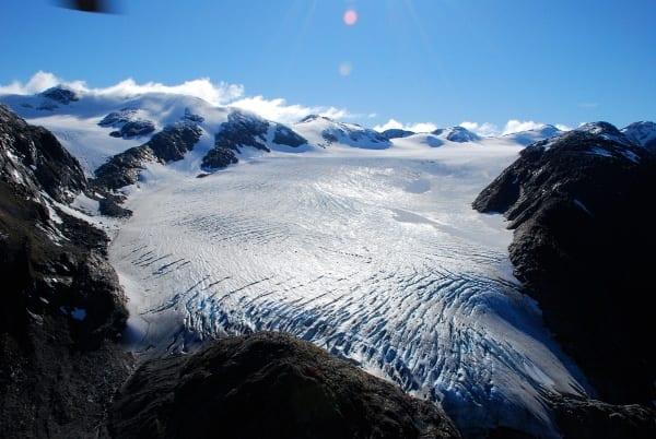 Lemon Creek Glacier, Juneau Alaska. Photo Credit: Glacier Change