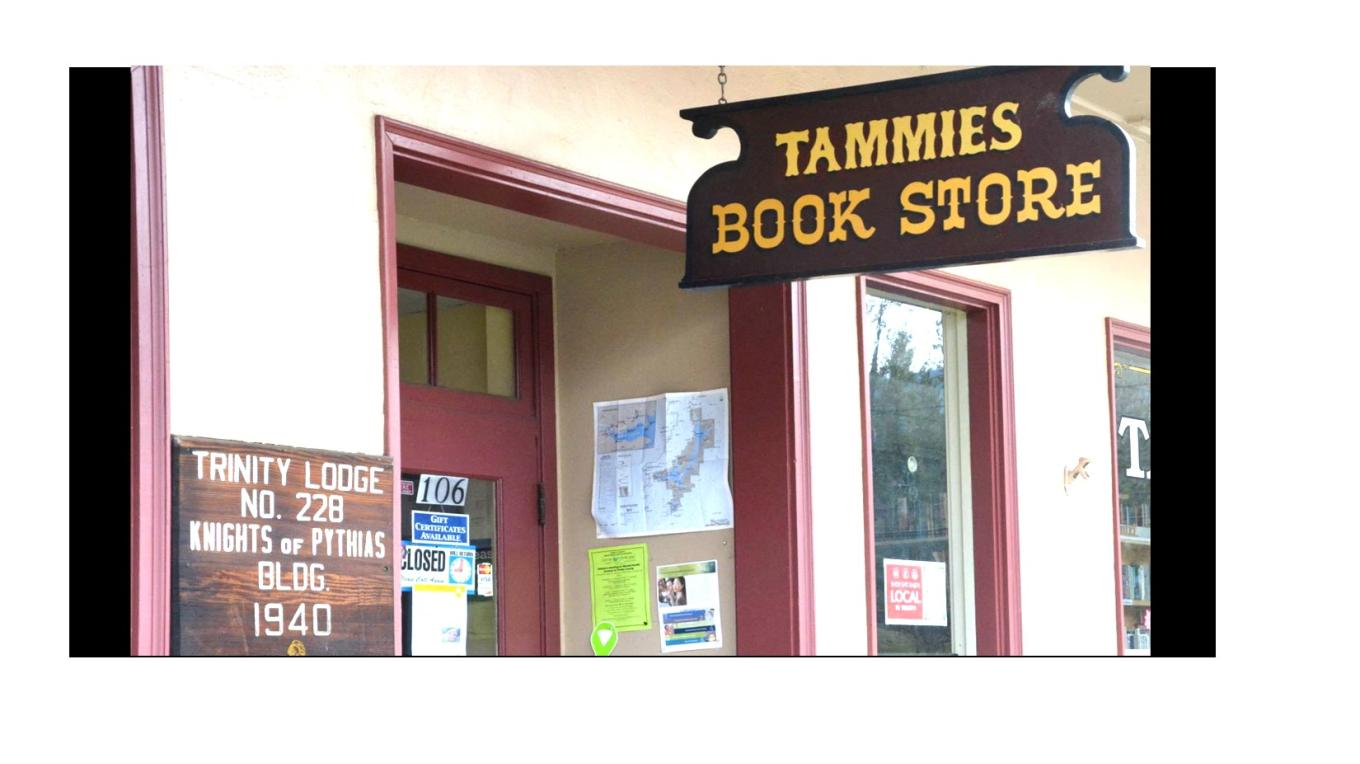 Tammie's is at upper west end of Historic District, near Angela's Bead Art