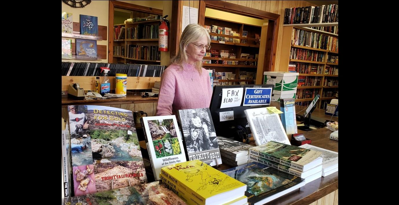 For 27 year's this book store has been a part of Trinity County. Come in and  meet owner Tammie along with mascot Mad Max the Chameleon.