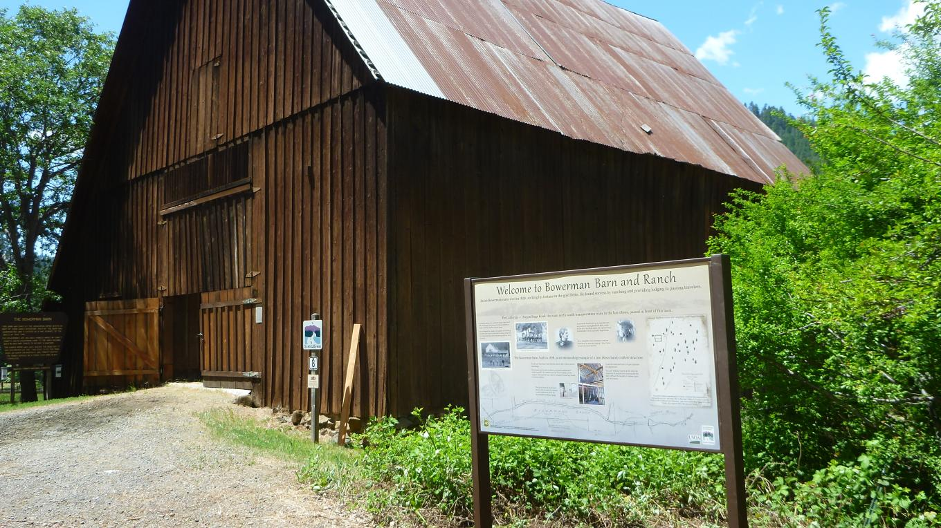 Explore what pioneer life was like in the 1880's at the Bowerman Barn and Ranch. To see this hand-built barn is to get a glimpse of a bygone era. You can't help but marvel at the skill and ingenuity of people who constructed this barn without the benefit of modern tools and techniques.