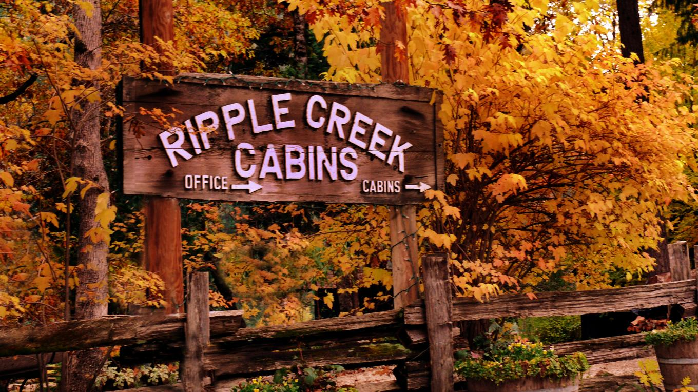 Ripple Creek Cabins is one of the few Trinity Alps resorts open year-round. Come enjoy Ripple Creek Cabins in Autumn, Winter, Spring and Summer and take advantage of our special seasonal rates: Oct. 1st through May 1st, (excluding holidays). See rates below.