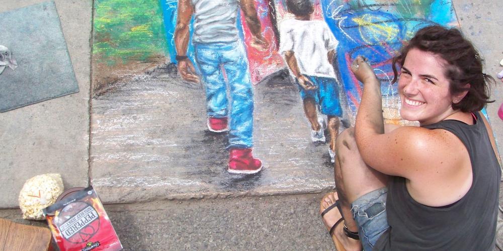 Summer Chalk Art Festival