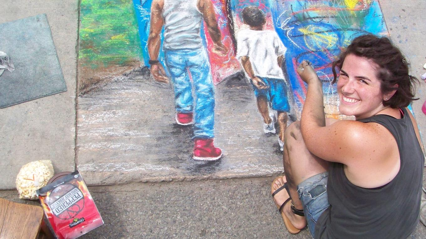 Summer Chalk Art Festival