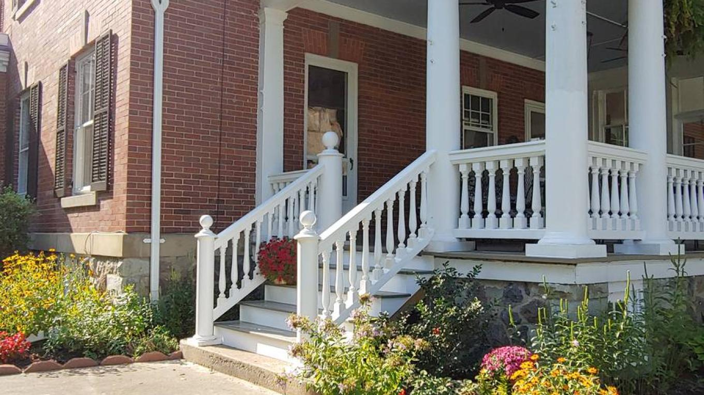 The BrickInn Side Porch Entrance