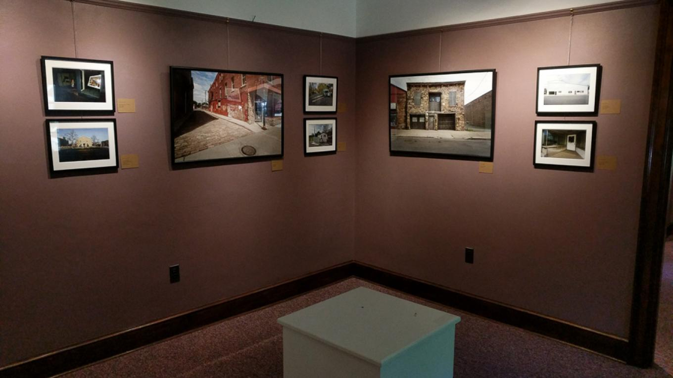 Recent Views of A Complex Society - Installation view at GVCA, Mount Morris, NY – Robert Doyle
