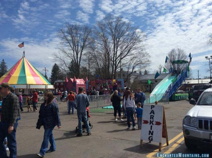 The WNY Maple Festival is held in Franklinville annually