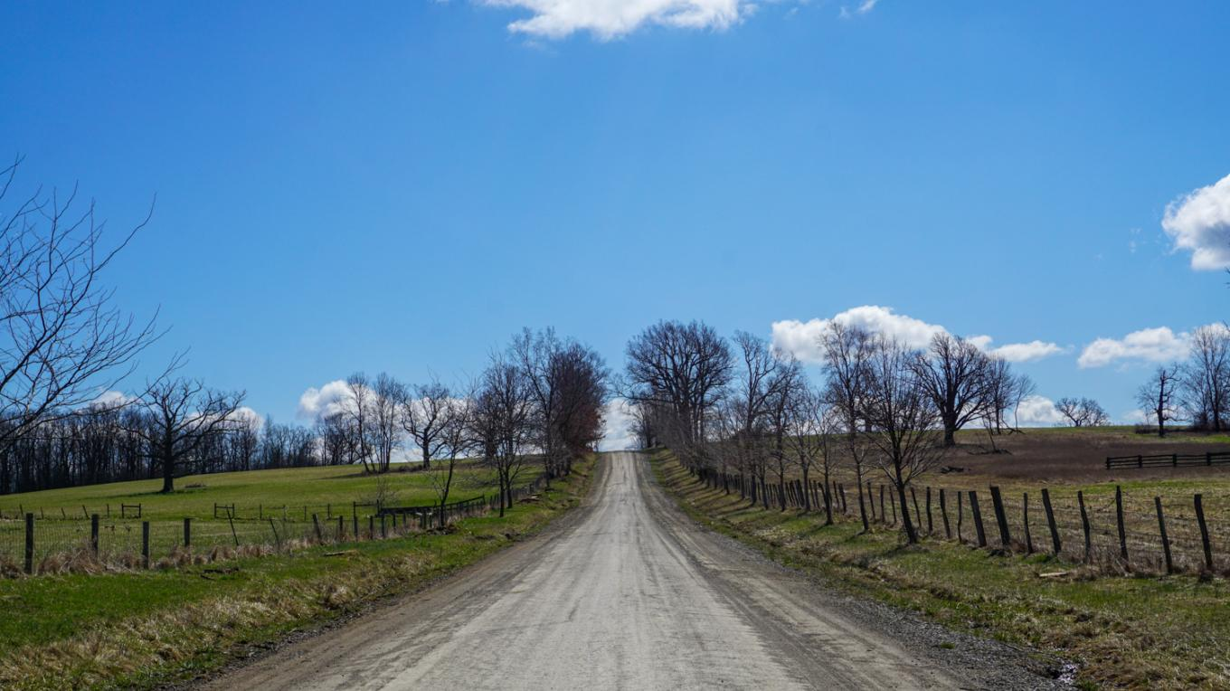 Nations Road near Avon on Route 39. Photo credit: Chris Clemens