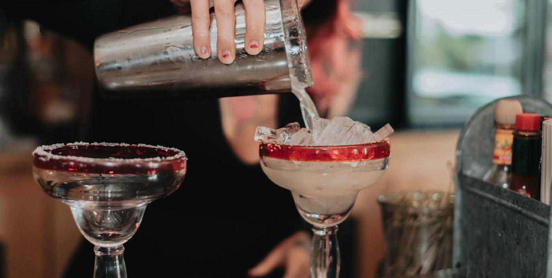 Margaritas at Bar-Eat-O in Geneseo.