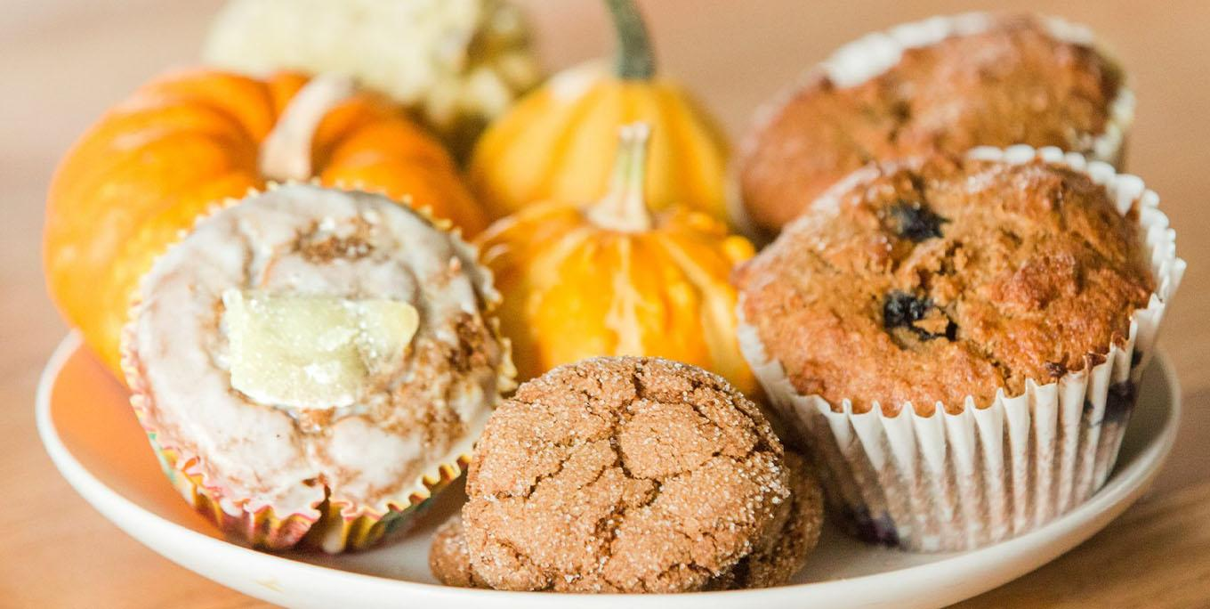 Desserts at Suzea's Gluten Free Bakery in Mount Morris. Photo by Julia McCormick Photography.
