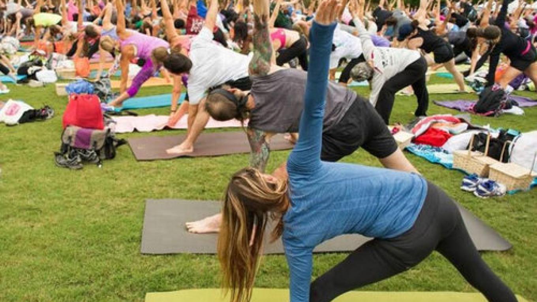NYS Yoga Festival via Hikyoga