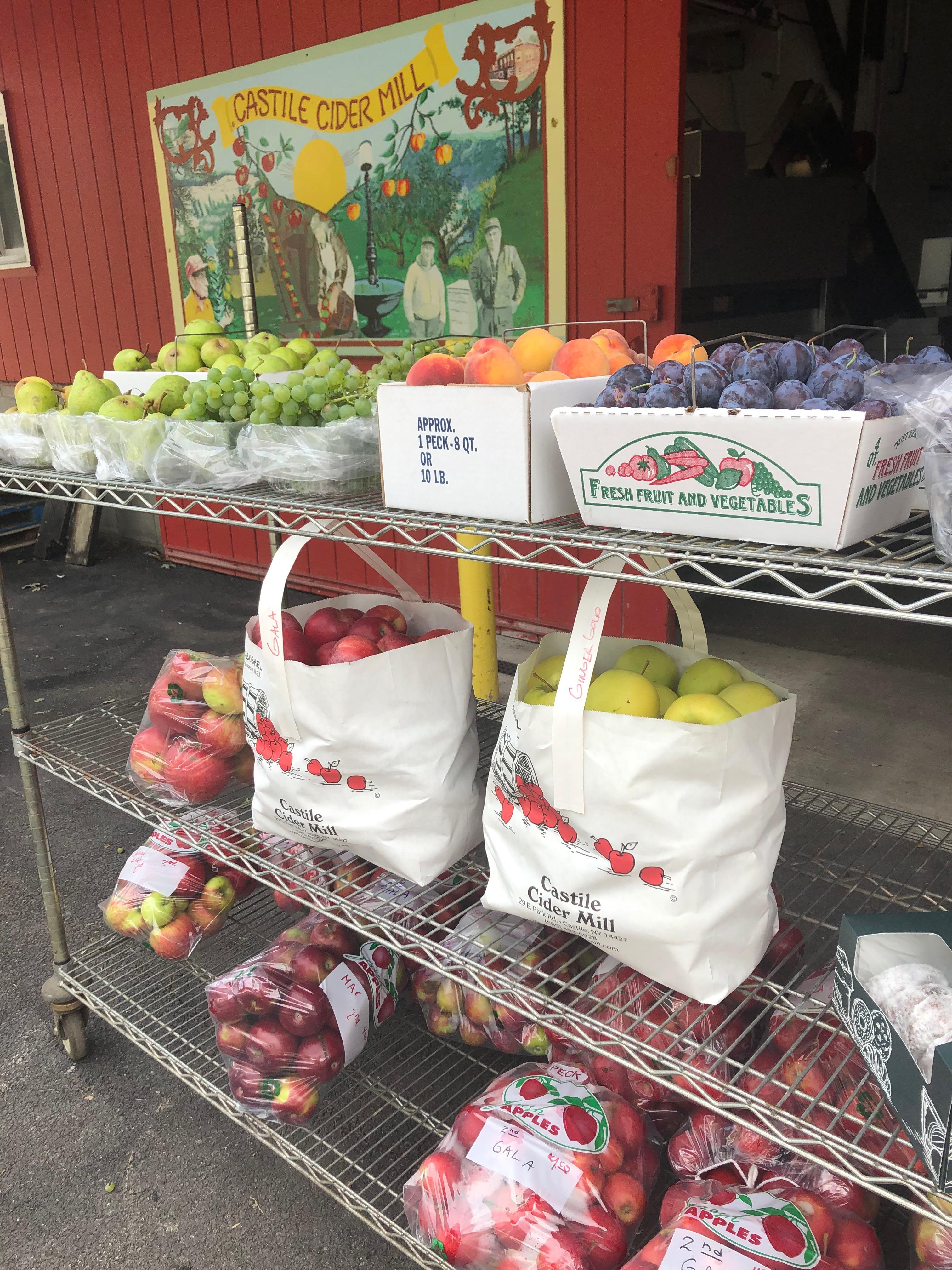 Produce at the Cider Mill