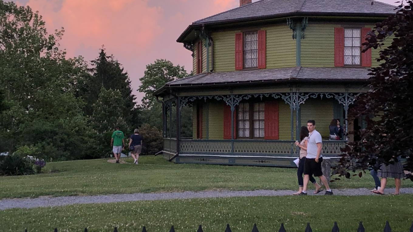 Sunset at Genesee Village Country and Museum
