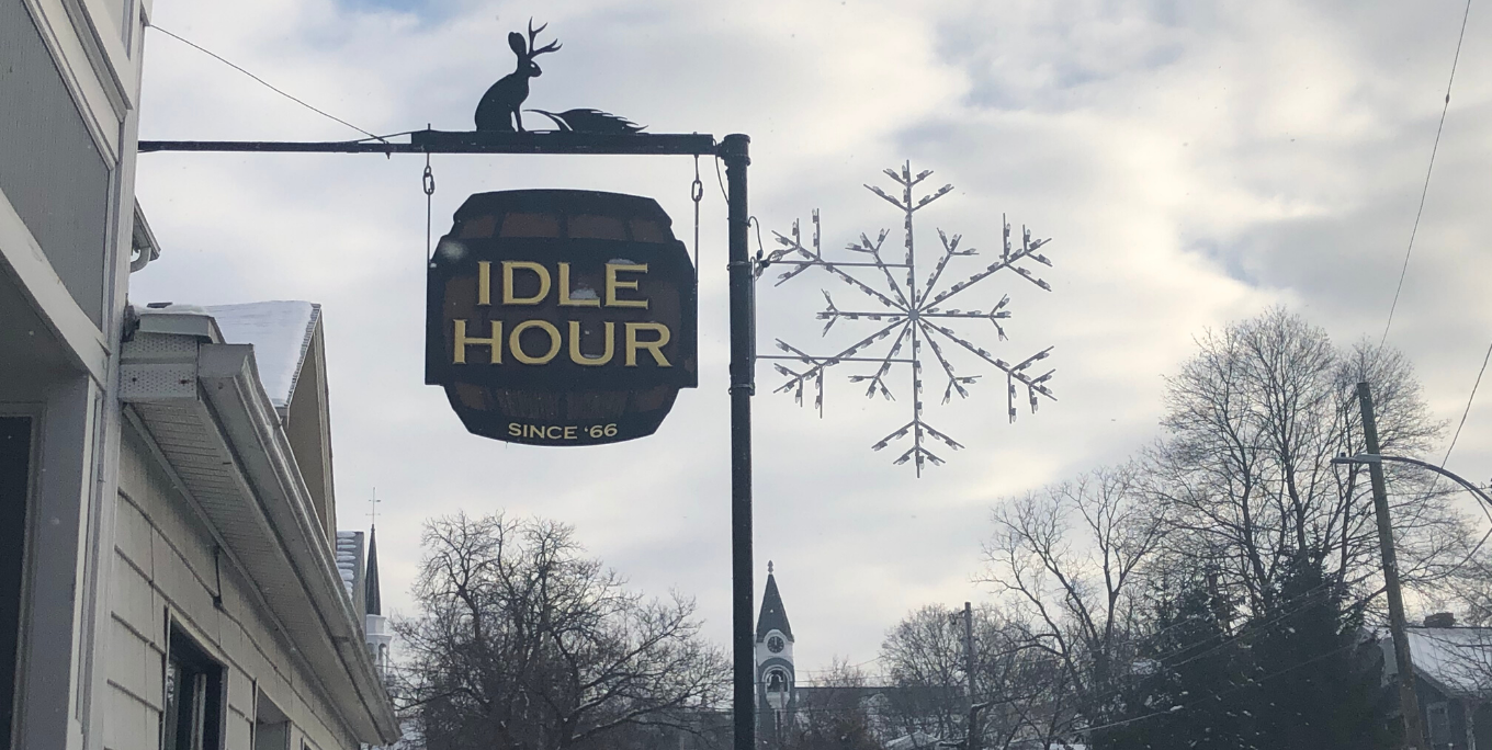 The Idle Hour Bar in Geneseo.