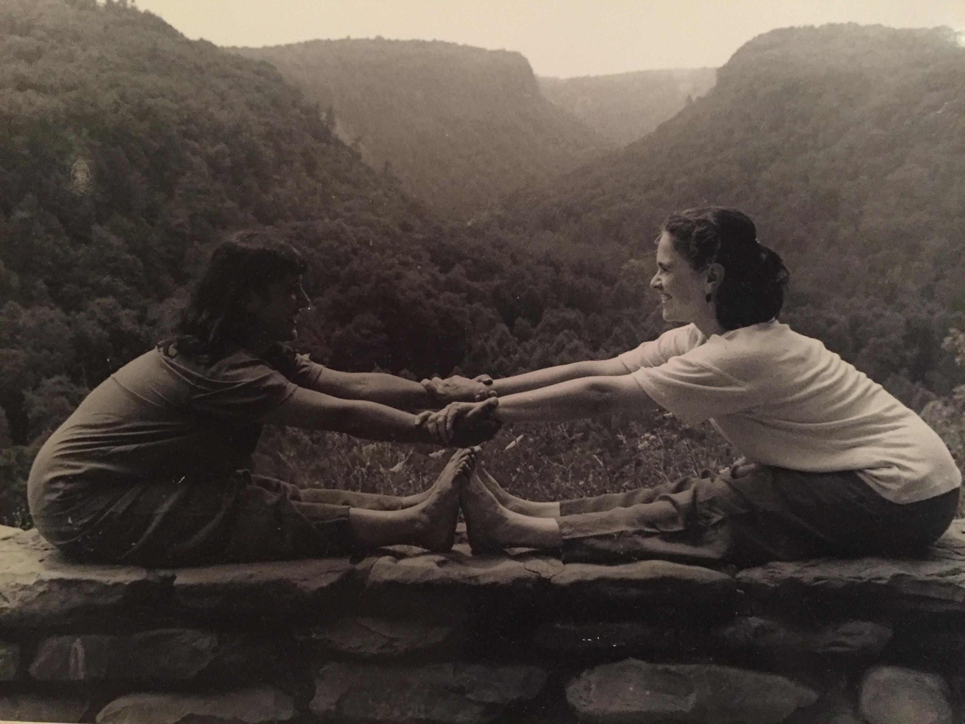 Angela Caplan and Jacki McCausland, Shakti Yoga Co-Founders - Letchworth State Park