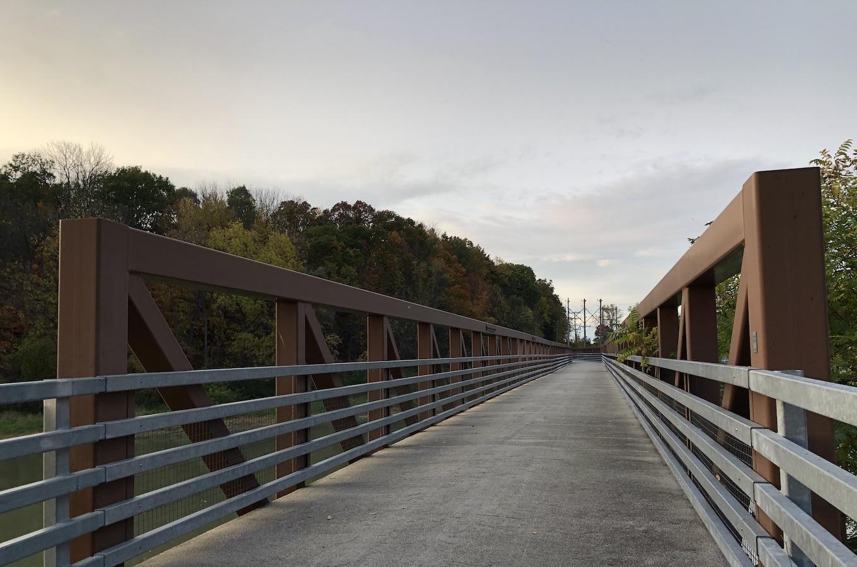 Genesee River Bridge, Mount Morris, NY