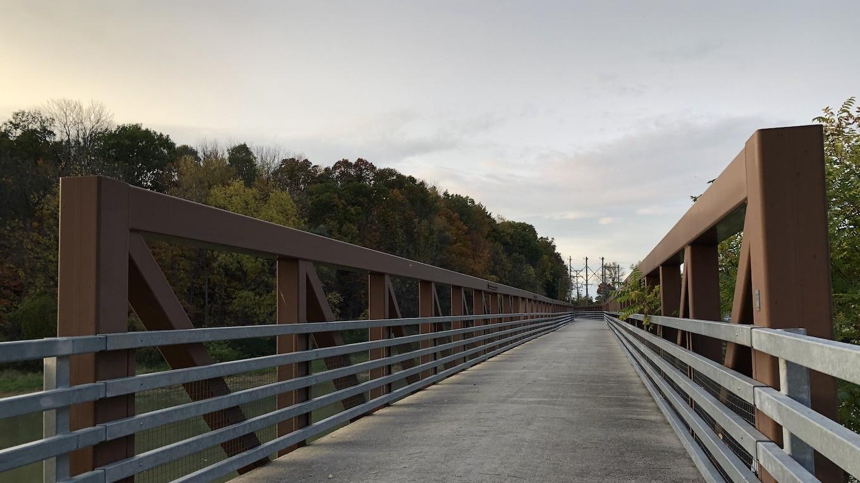 Genesee Valley Greenway Bridge, Mount Morris