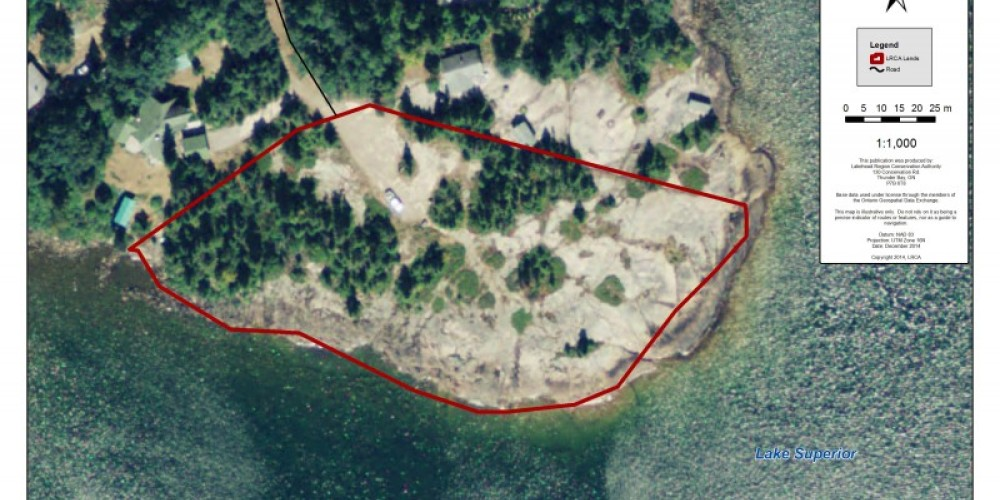 MacKenzie Point Conservation Area Map – LRCA Staff