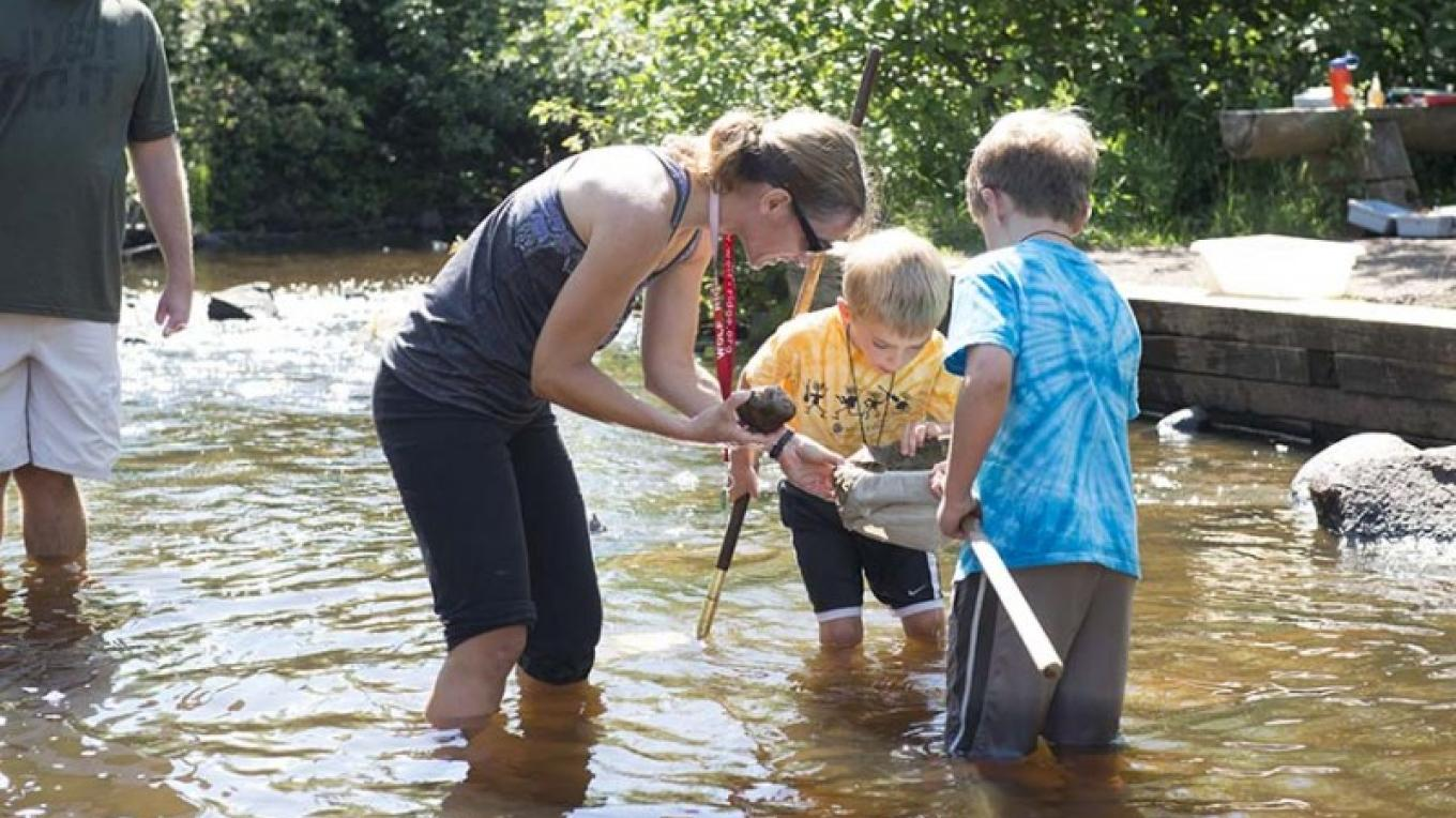 Share outdoor adventures and explorations. – Wolf Ridge Environmental Learning Center