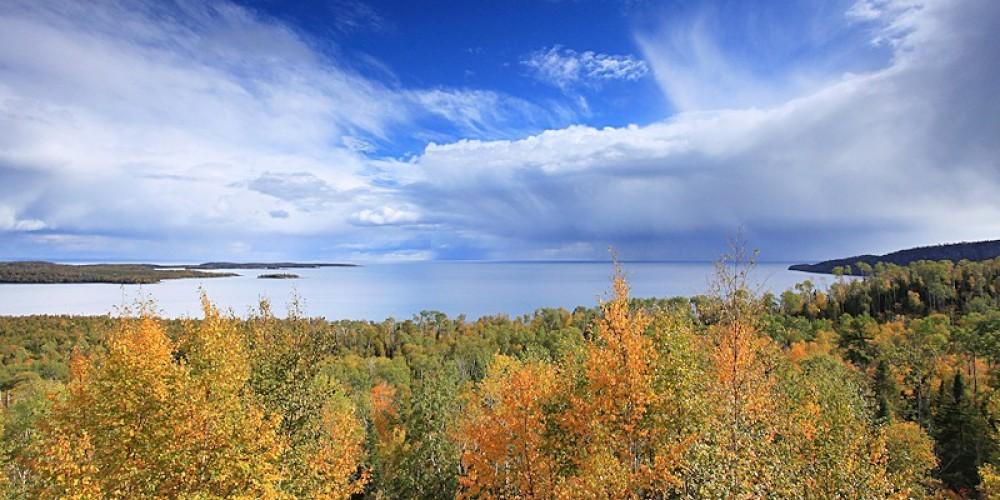 Overlooking Lake Superior – Travis Novitsky
