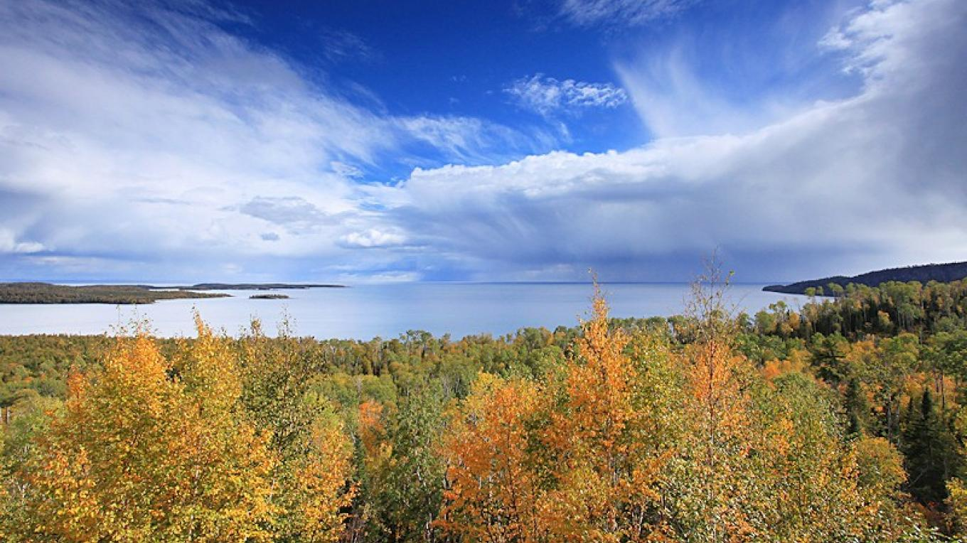 Overlooking Lake Superior – Travis Novitsky