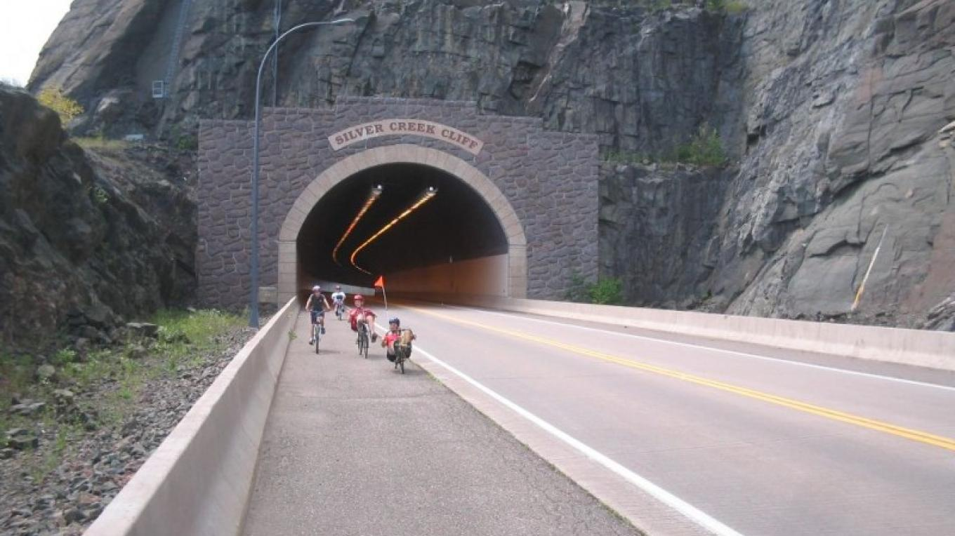 Designated as one of the most scenic highways in America - Hwy 61 on the north shore of Lake Superior – Arnie Sutton