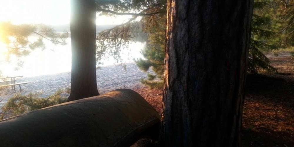 Sundown at Dawson Trail Campgrounds