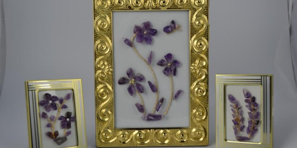 Amethyst picture frames – Tim Lukinuk