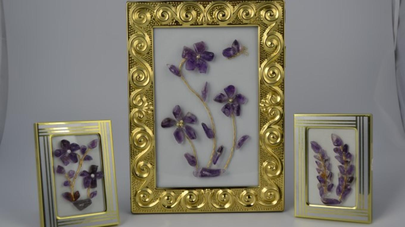 Amethyst picture frames – Tim Lukinuk