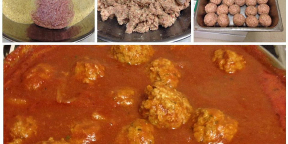 Meatballs in the making – A Ransome