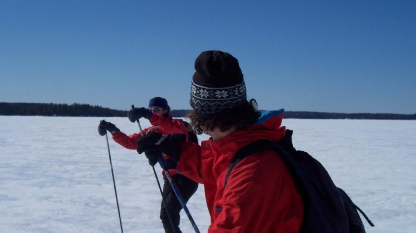 Crust skiing in Quetico – Pete Yates