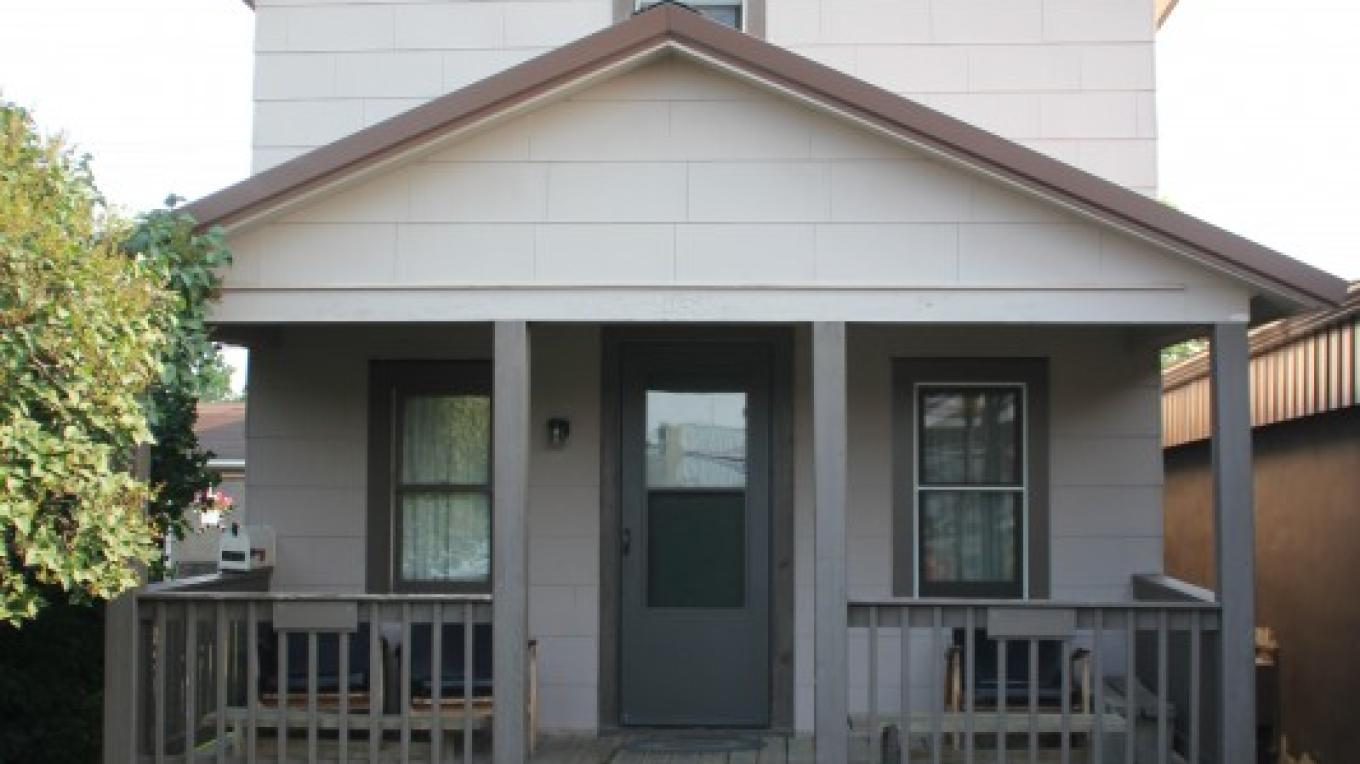 This is our house we have for rent. The house has 6 full size beds and is great for larger groups. Call for rates.