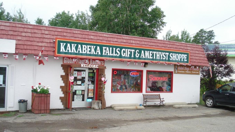 Kakabeka Falls Amethyst Gift Shoppe and Global Flags and Banners – David Hearn