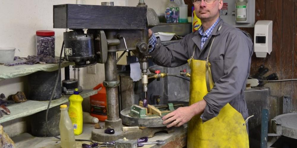 Lapidary workshop – Tim Lukinuk