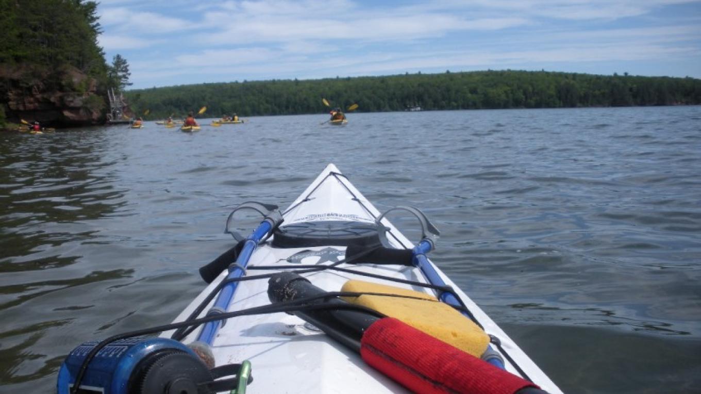 Kayaking in Voyageurs National Park – J. Peterson
