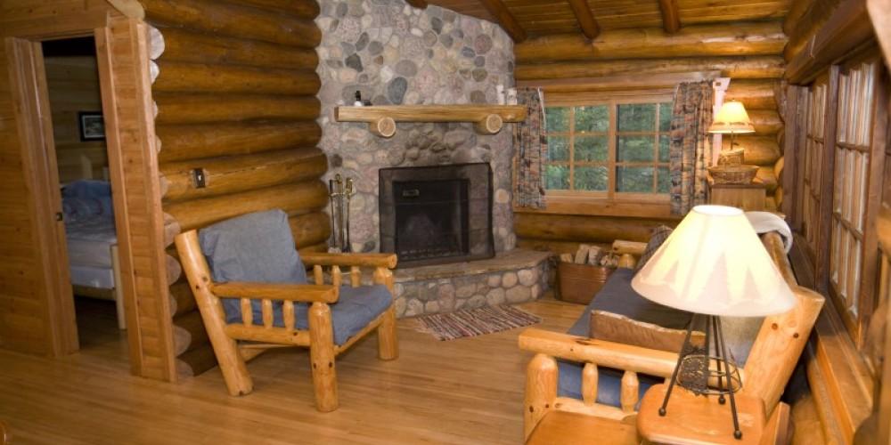 Interior of Cabin 12 – Northernair Loage