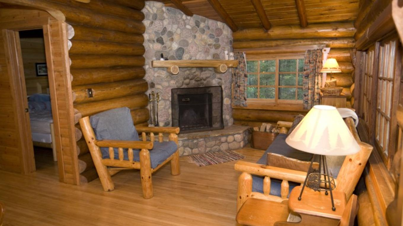 Interior of Cabin 12 – Northernair Loage