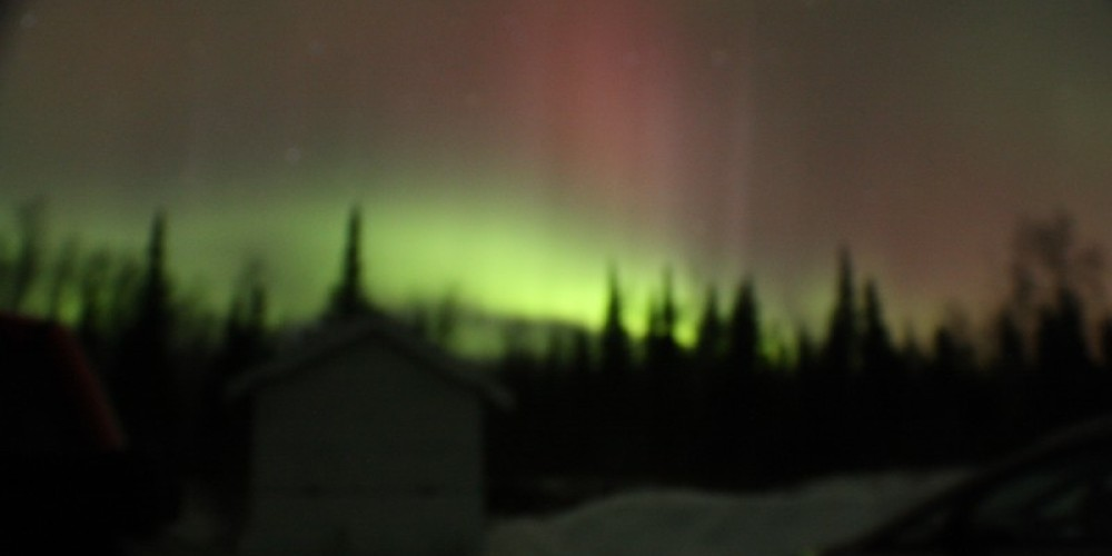 Northern Lights from Observatory – Randy McAllister