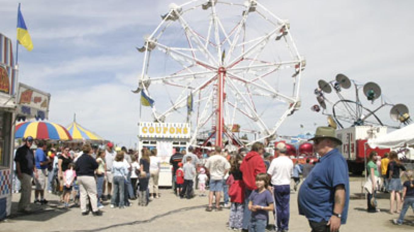 Midway at the Fair – RRVAS Volunteer