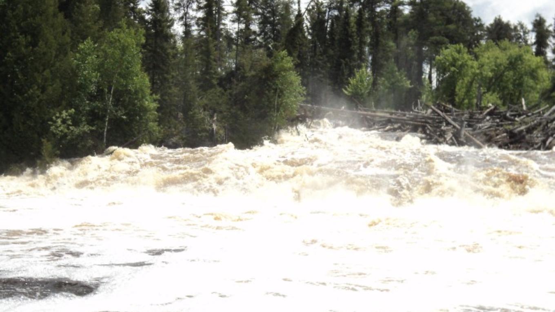 Island Falls on the Floodwaters – Jody Loew
