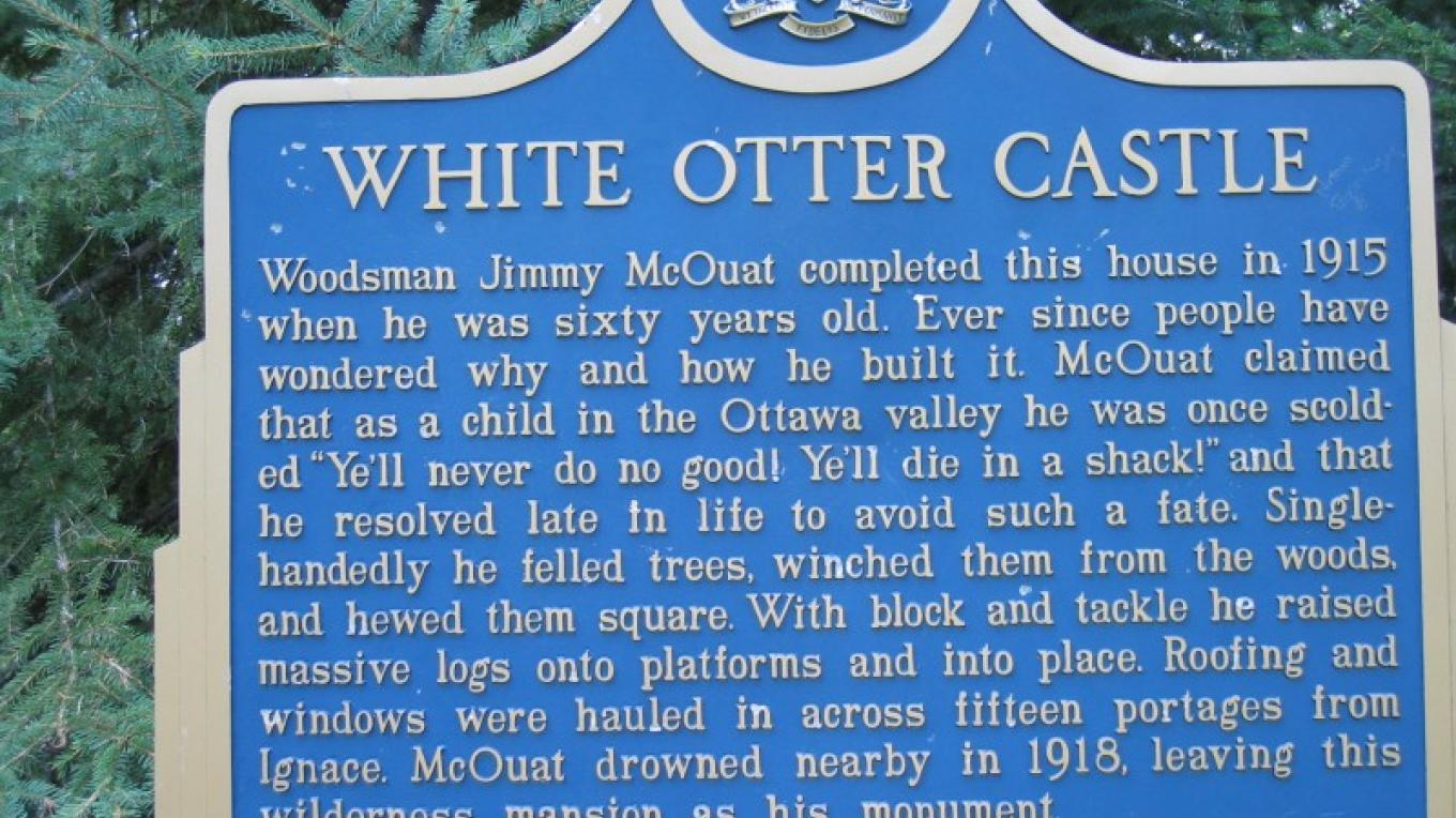 The story of the Castle and Jimmy McQuat – Darcy Matichuk