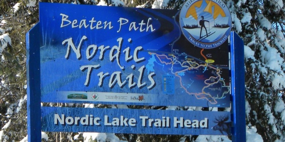 One of the five trail-heads skiers can start from – C Stromberg