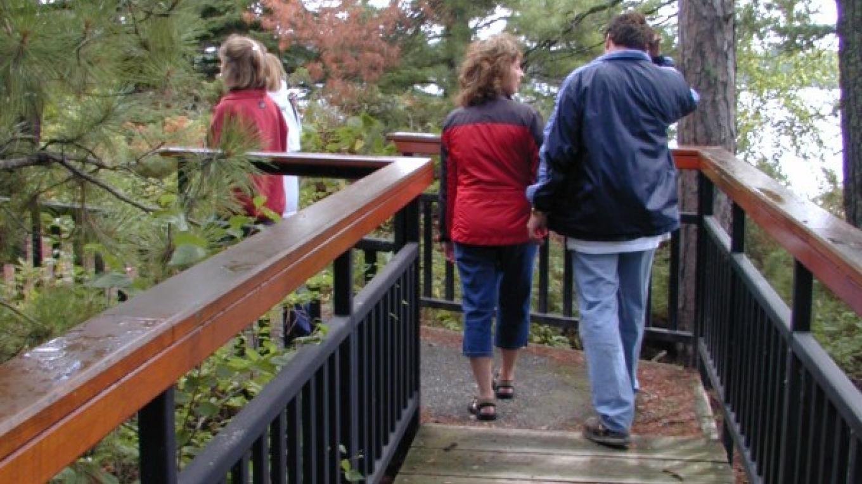 Boardwalk, Little American Island, Voyageurs National Park – NPS