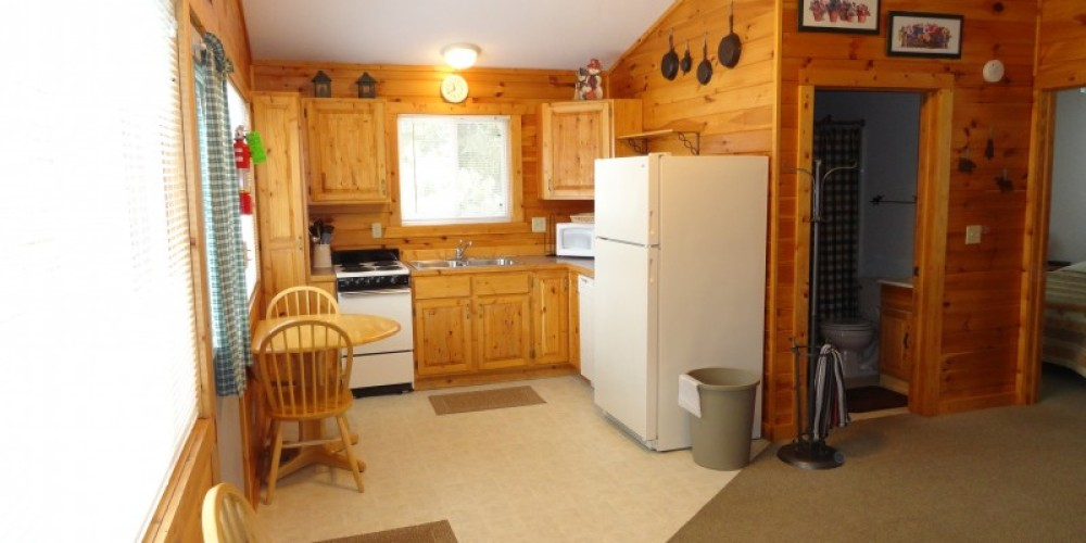 Cabin #3--A Luxury Cabin at Northern Lights Lodge and Resort – Marie Vogt