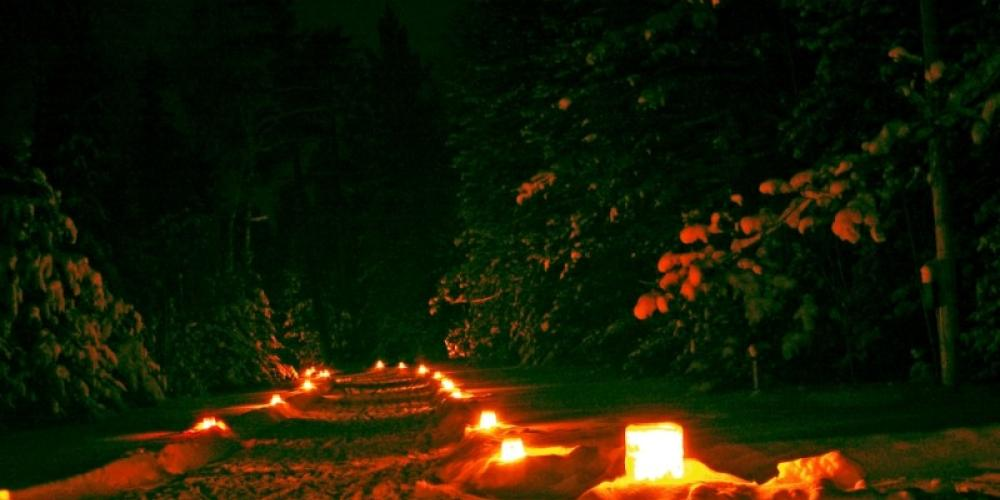 Candle lit ski - Quetico-Superior Centennial 2009 – Catherine Riley