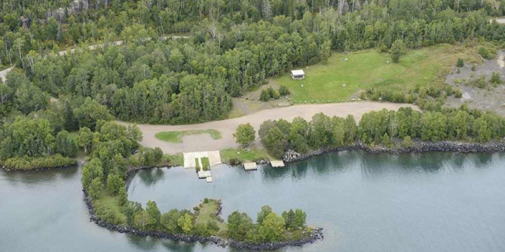 Aerial View of Silver Harbour Conservation Area