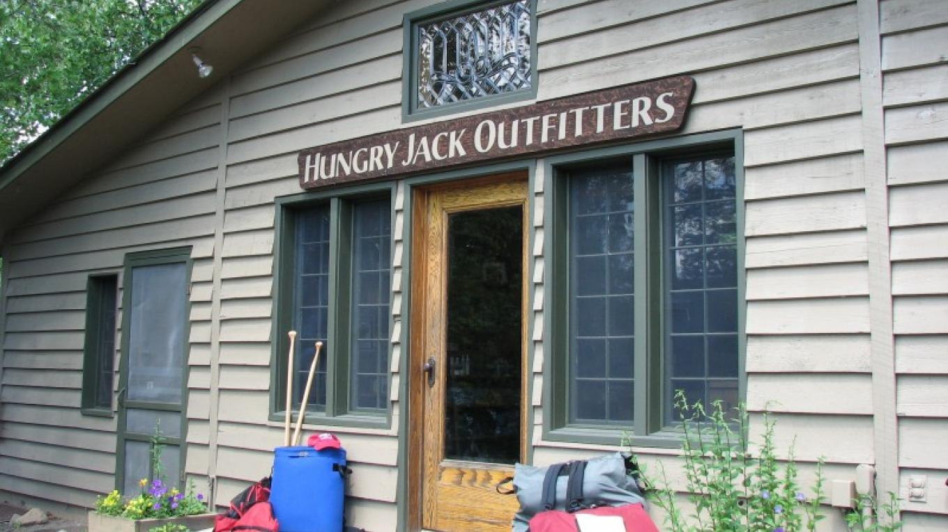 Hungry Jack Outfitters Office – Seaton